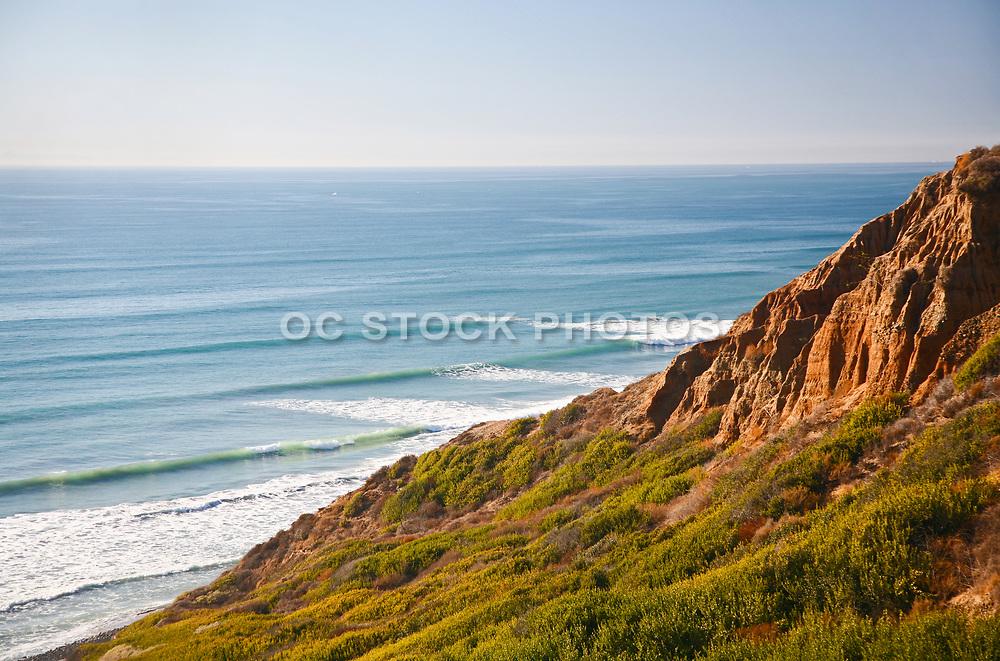Pacific Ocean View From Bluffs Beach Trail
