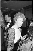 Countess Griaznoff, Spring Ball, inter-continental, 12.03.86© Copyright Photograph by Dafydd Jones 66 Stockwell Park Rd. London SW9 0DA Tel 020 7733 0108 www.dafjones.com