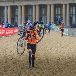30-01-2021: Wielrennen: WK Veldrijden: Oostende<br />Lucinda Brand