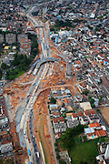 Belo Horizonte_MG, Brasil...Na foto o processo de duplicacao da Avenida Antonio Carlos em Belo Horizonte, Minas Gerais...In the photo the duplication process of Avenida Antonio Carlos in Belo Horizonte, Minas Gerais...Foto: LEO DRUMOND / NITRO