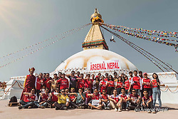 """Mesut Oezil releases a photo on Twitter with the following caption: """"""""Another fanpic from Asia. 🇳🇵♥💪🏼 Thanks for this Nepal. Best wishes from London to all of you! #M1Ö 〽 #WeAreTheArsenal #YaGunnersYa"""""""". Photo Credit: Twitter *** No USA Distribution *** For Editorial Use Only *** Not to be Published in Books or Photo Books ***  Please note: Fees charged by the agency are for the agency's services only, and do not, nor are they intended to, convey to the user any ownership of Copyright or License in the material. The agency does not claim any ownership including but not limited to Copyright or License in the attached material. By publishing this material you expressly agree to indemnify and to hold the agency and its directors, shareholders and employees harmless from any loss, claims, damages, demands, expenses (including legal fees), or any causes of action or allegation against the agency arising out of or connected in any way with publication of the material."""