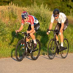 20-08-2020: Interclub wielrennen: Almelo<br />Robin Lowik