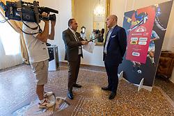 GIUSEPPE MAROTTA  <br /> INAUGURAZIONE CALCIOMERCATO 2021 GRAND HOTEL RIMINI
