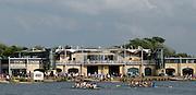 Eton,  GREAT BRITAIN. General Views of the  Eton Boathouse and Eton Regatta Course, Eton Schools' Regatta, Eton Rowing Centre, Dorney Lake. [Finish of cancelled National Schools Regatta], Saturday, 07/06/2008  [Mandatory Credit: Karon PHILLIPS / Intersport Images]. Rowing Courses, Dorney Lake, Eton. ENGLAND Eton College, Boat house,