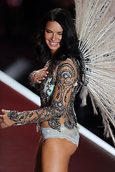 November 8 2018, New York City<br /> <br /> Adriana Lima walking at the 2018 Victoria's Secret runway show at Pier 94 on November 8 2018 in New York City