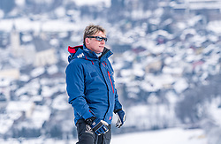 08.01.2021, Streif, Kitzbühel, AUT, FIS Weltcup Ski Alpin, Schneekontrolle durch die FIS, im Bild Herbert Hauser (Pistenchef Streif) // Herbert Hauser slope Manager Streif during snow control by the FIS for the FIS ski alpine world cup at the Streif in Kitzbühel, Austria on 2021/01/08. EXPA Pictures © 2020, PhotoCredit: EXPA/ Stefan Adelsberger