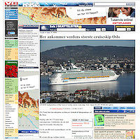 Independence of the Seas. VG. Norway..21-04-2008