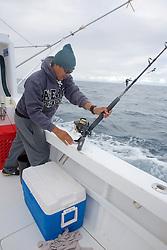 Ronny Yagual  Setting Up Fishing Gear, San Cristóbal
