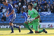 Shareef Keouf of Israel (1) during the UEFA European Under 17 Championship 2018 match between England and Israel at Proact Stadium, Whittington Moor, United Kingdom on 4 May 2018. Picture by Mick Haynes.