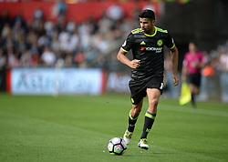 Diego Costa of Chelsea - Mandatory byline: Alex James/JMP - 07966386802 - 11/09/2016 - FOOTBALL - Barclays premier league -swansea,Wales - Swansea v Chelsea  -