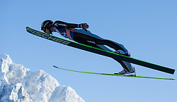 22.03.2013, Planica, Kranjska Gora, SLO, FIS Ski Sprung Weltcup, Skifliegen, 1. Wertungsdurchgang, im Bild Gregor Deschwanden (SUI) // Gregor Deschwanden of Switzerland in action during 1st round of the FIS Skijumping Worldcup Individual Flying Hill, Planica, Kranjska Gora, Slovenia on 2013/03/22. EXPA Pictures © 2012, PhotoCredit: EXPA/ Johann Groder