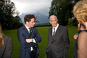 CHRIS O'NEILL; DONALD HAHN, Christie's Gala. Casa Austria.  Amadeus Weekend. Salzburg. 22 August 2008.  *** Local Caption *** -DO NOT ARCHIVE-© Copyright Photograph by Dafydd Jones. 248 Clapham Rd. London SW9 0PZ. Tel 0207 820 0771. www.dafjones.com.