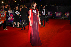 Ruth Wilson attends the premiere of Dark River, as part of the BFI London Film Festival, at the Odeon cinema in Leicester Square, London. Picture date: Saturday October 7th, 2017. Photo credit should read: Matt Crossick/ EMPICS Entertainment.
