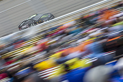 June 10, 2018 - Brooklyn, Michigan, United States of America - Kurt Busch (41) races off turn one during the FireKeepers Casino 400 at Michigan International Speedway in Brooklyn, Michigan. (Credit Image: © Stephen A. Arce/ASP via ZUMA Wire)