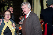 PETER YORK; JAMES HUGHES-ONSLOW, Liz Brewer GIVES A PARTY TO WELCOME 2010, Champagne <br /> Flemings Mayfair, 13 Half Moon Street, London. 5 January 2010