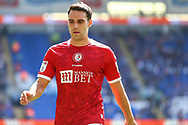 Bristol City's Matty James (6) in action during the EFL Sky Bet Championship match between Cardiff City and Bristol City at the Cardiff City Stadium, Cardiff, Wales on 28 August 2021.