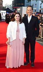 Melissa McCarthy (left) and Richard E. Grant attend the Can You Ever Forgive Me screening at Cineworld Leicester Square during the 62nd BFI London Film Festival.