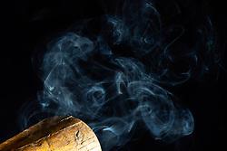 Baseball Smoke Art