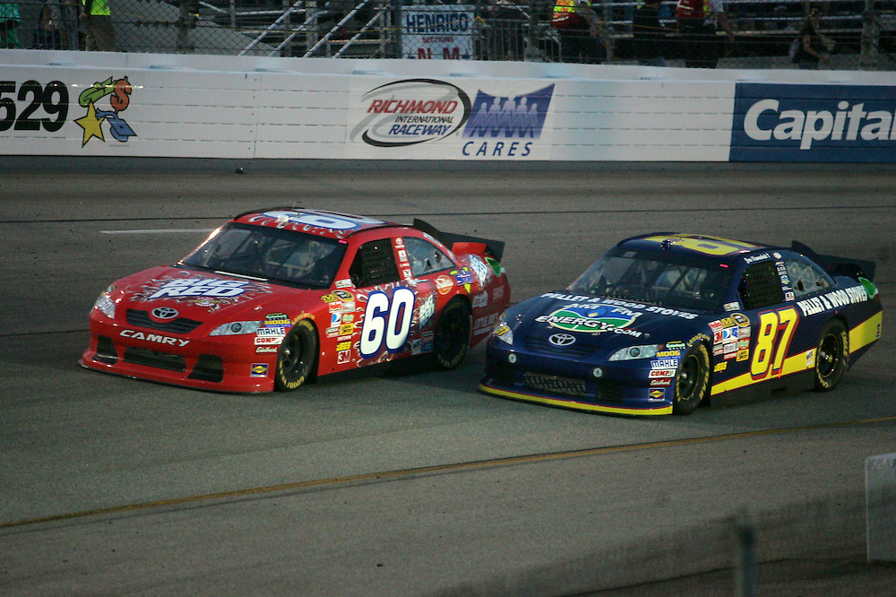Apr 30, 2011; Richmond, VA, USA; NASCAR Sprint Cup Series driver [INSERT NAME] during the Matthew and Daniel Hansen 400 at Richmond International Raceway. Mandatory Credit: Peter Casey-US PRESSWIRE