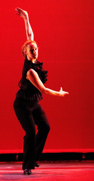 Chicago Tap Theatre - Tap!(ish).Flying Turtles, choreography by Brenda Bufalino.Dancer, Kirsten Williams