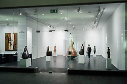 Artspace art gallery at The Gate Village district in the DIFC Dubai International Financial Centre in United Arab Emirates