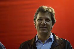 May 5, 2017 - Sao Paulo, Sao Paulo, Brazil - Former Mayor of Sao Paulo, FERNANDO HADDAD, attends the opening event of the 6th PT (Workers Party) Congress - in Sao Paulo, this Friday (05) (Credit Image: © Paulo Lopes via ZUMA Wire)
