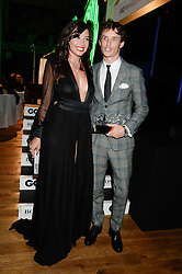 DAISY LOWE and EDDIE REDMAYNE winner of the Remy Martin Breakthrough Award at the GQ Men of The Year Awards 2013 in association with Hugo Boss held at the Royal Opera House, London on 3rd September 2013.