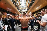 BOXEN: IBO-Weltmeisterschaft, Wiegen, Hamburg, 05.07.2019<br /> Sebastian Formella (GER) - Tulami Mbenge (RSA)<br /> © Torsten Helmke