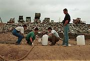 Ketil Haarstad, gjesteforsker, søppelfylling Sardinia..neg Sardinia, Italy.