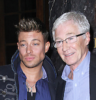 Duncan James & Paul O'Grady, Attitude Magazine - 20th Birthday Party, Grosvenor House Hotel, London UK, 29 March 2014, Photo by Brett D. Cove
