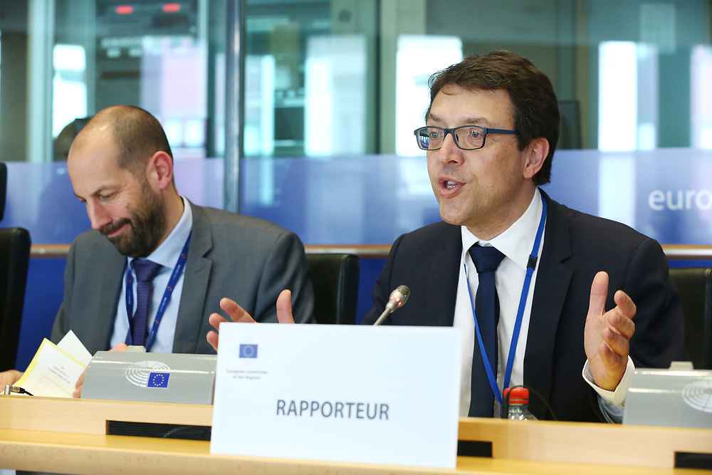 12 May 2017, 123rd Plenary Session of the European Committee of the Regions <br /> Belgium - Brussels - May 2017 <br /> <br /> Mr Christophe Clergeau (FR/PES) <br /> <br /> © European Union / Patrick Mascart