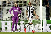 Esultanza Arturo Vidal dopo gol 1-0, goal celebration,<br /> Torino 14-04-2015, Juventus Stadium, Football Calcio 2014/2015 Champions League, Juventus - Monaco, foto Filippo Alfero/Insidefoto