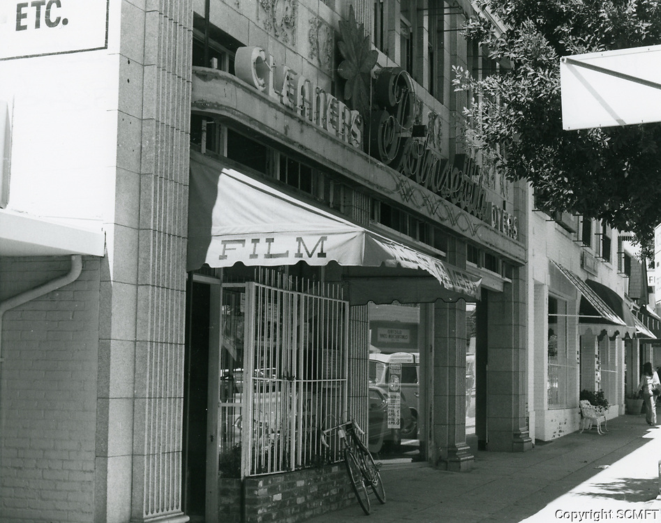 1977 Village Camera & Pointsetta Cleaners on Larchmont Blvd.