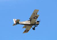 Royal Aircraft Factory SE5a (replica), Farnborough International Airshow, Farnborough Airport UK, 18 July 2014, Photo by Richard Goldschmidt