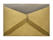 Tan and translucent envelope folds of paper
