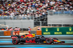 Max Verstappen (Aston Martin Red Bull Racing) rides during the qualifying session of Grand Prix de France 2018, Le Castellet, France, on June 23rd, 2018. Photo by Marco Piovanotto/ABACAPRESS.COM