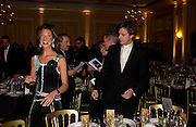 Heather Kerzner and Roger Mele. Grand Hotel-A Donmar Warehouse Gala evening in association with De Beers. Claridges. 2 December 2004. ONE TIME USE ONLY - DO NOT ARCHIVE  © Copyright Photograph by Dafydd Jones 66 Stockwell Park Rd. London SW9 0DA Tel 020 7733 0108 www.dafjones.com