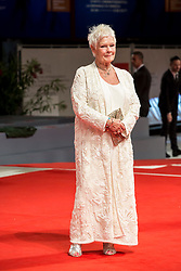 UK actress Judi Dench arriving to the premiere of Victoria & Abdul at the 74th Venice International Film Festival in Venice, Italy on September 3, 2017. Photo by Marco Piovanotto/ABACAPRESS.COM