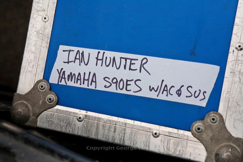 Ian Hunter and the Rant Band at the 2011 Hoboken Music & Arts Festival