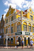Curacao, Netherlands Antilles, Willemstad Penha and Sons Building, 1708