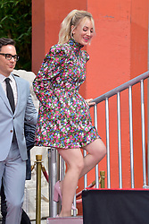 May 1, 2019 - Los Angeles, Kalifornien, USA - Jim Parsons und Kaley Cuoco bei der Handprints Ceremony am TCL Chinese Theatre Hollywood. Los Angeles, 01.05.2019 (Credit Image: © Future-Image via ZUMA Press)
