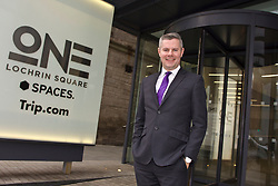 Scottish Finance Secretary Derek Mackay at the launch of the government's Economic Action plan at the Spaces offices in Fountainbridge, Edinburgh pic copyright Terry Murden @edinburghelitemedia