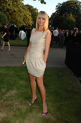 TESS DALY at the annual Serpentine Gallery Summer Party in association with Swarovski held at the gallery, Kensington Gardens, London on 11th July 2007.<br /><br />NON EXCLUSIVE - WORLD RIGHTS