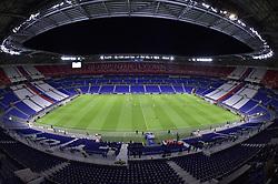 October 2, 2018 - Decines Charpieu - Parc Ol, France - Les joueurs (lyon) et (shakhtar donetsk) dans un stade a huis clos (Credit Image: © Panoramic via ZUMA Press)