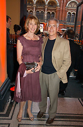 Leading make-up artist BARBARA DALY and her husband LAURENCE TARLO  at the 5th anniversary party for InStyle magazine held at The V&A, Cromwell Road, London SW7 on 19th June 2006.<br /><br />NON EXCLUSIVE - WORLD RIGHTS