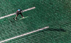 01.10.2016, Energie AG Skisprung Arena, Hinzenbach, AUT, FIS Ski Sprung, Sommer Grand Prix, Hinzenbach, im Bild Michael Hayboeck (AUT) // Michael Hayboeck of Austria during FIS Ski Jumping Summer Grand Prix at the Energie AG Skisprung Arena, Hinzenbach, Austria on 2016/10/01. EXPA Pictures © 2016, PhotoCredit: EXPA/ JFK