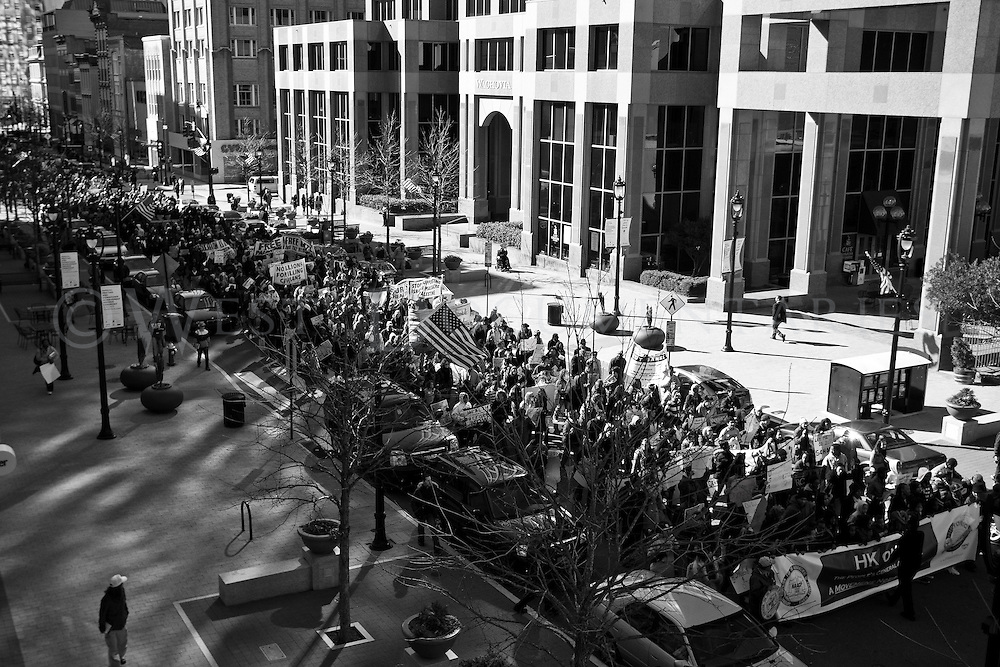 HKonJ rally and March, February 12, 2011, Raleigh, N.C.