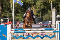 Vermeiren Dieter, BEL, Noblesse<br /> Belgian Championship 7 years old horses<br /> SenTower Park - Opglabbeek 2020<br /> © Hippo Foto - Dirk Caremans<br />  13/09/2020