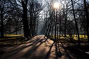 Krakowskie planty w jesiennej szacie.
