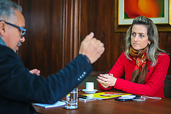 Simone Regina Diefenthaeler Leite é uma empresária, professora e política gaúcha. Nas eleições de 2014, candidatou-se ao Senado e ficou na quarta colocação. Atualmente, é a presidente da Federasul. FOTO: Jefferson Bernardes/ Agência Preview